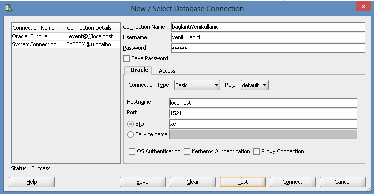 01 oracle ders 15 privileges connection