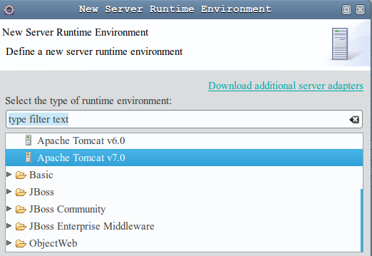 03 new server runtime environment