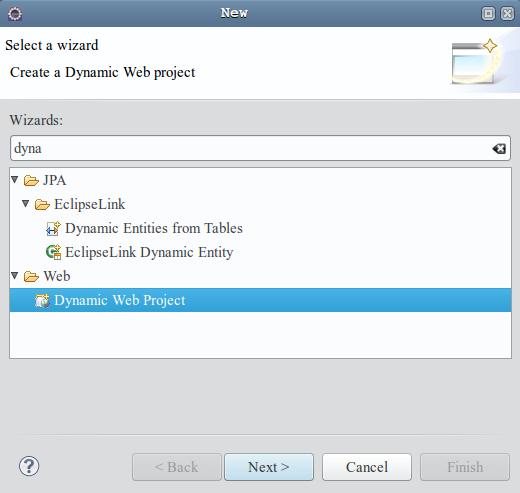 06 dynamic web project