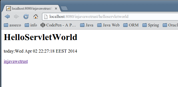 09 hello servlet world