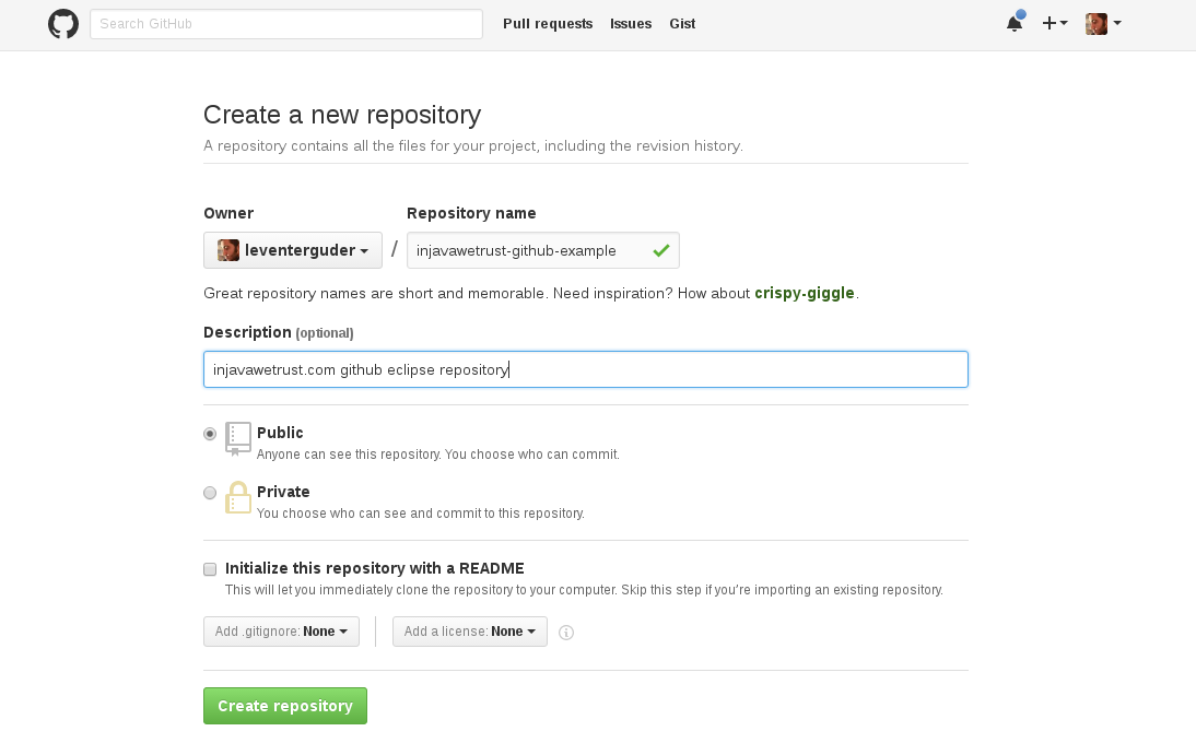 how to create a release in github