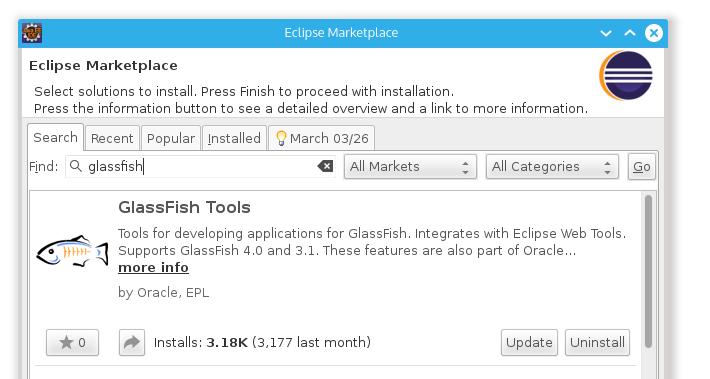 glassfish tool