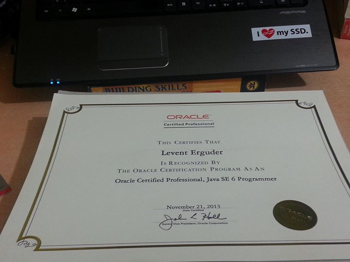 oracle certificate