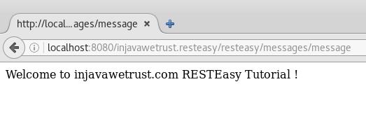 run resteasy 2